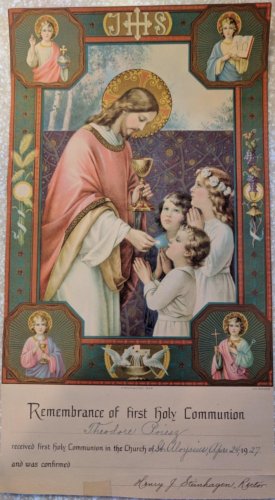 Remembrance Theodore Communion